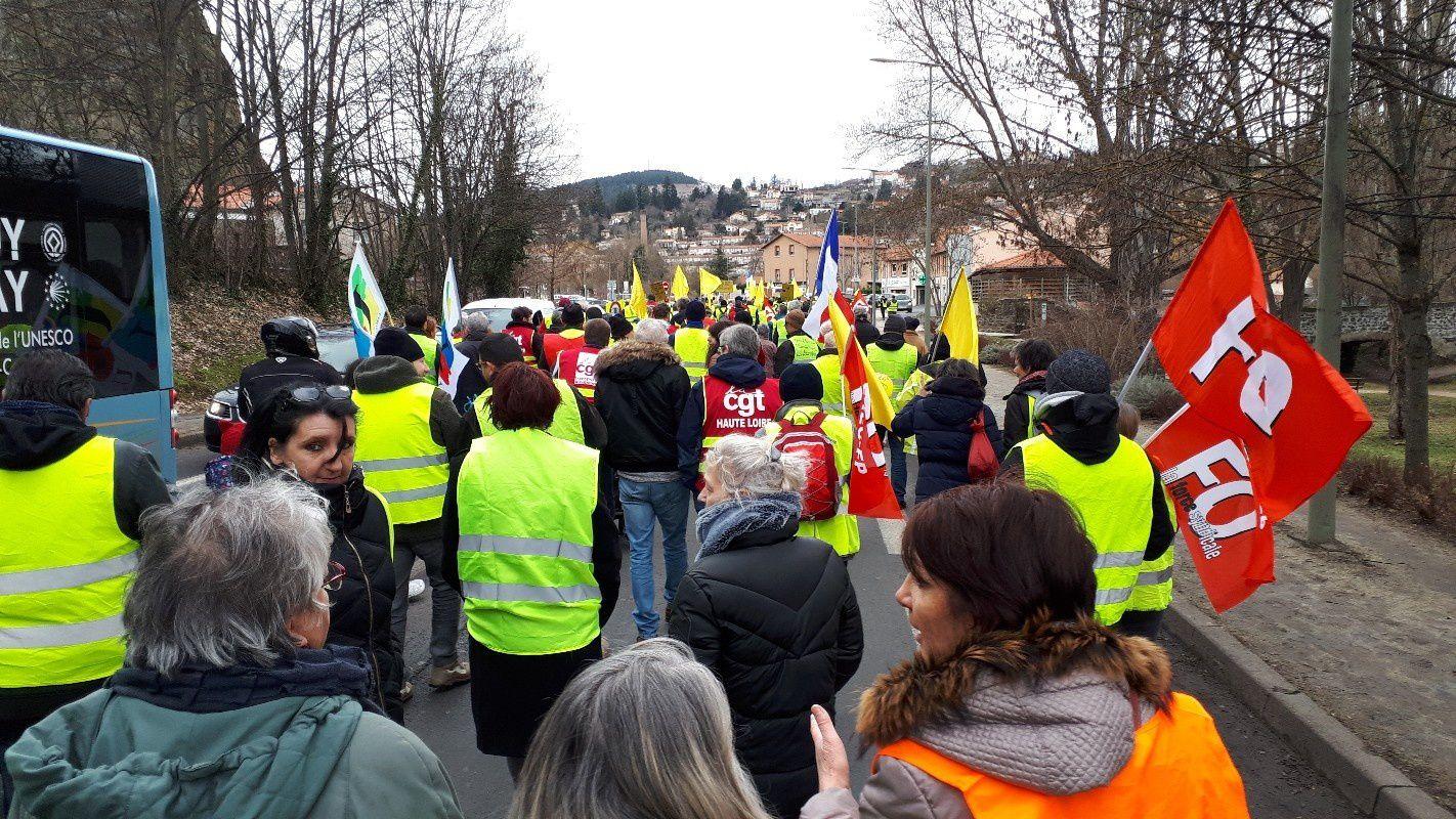 Samedi 9 mars : avec les gilets jaunes pour nos revendications !