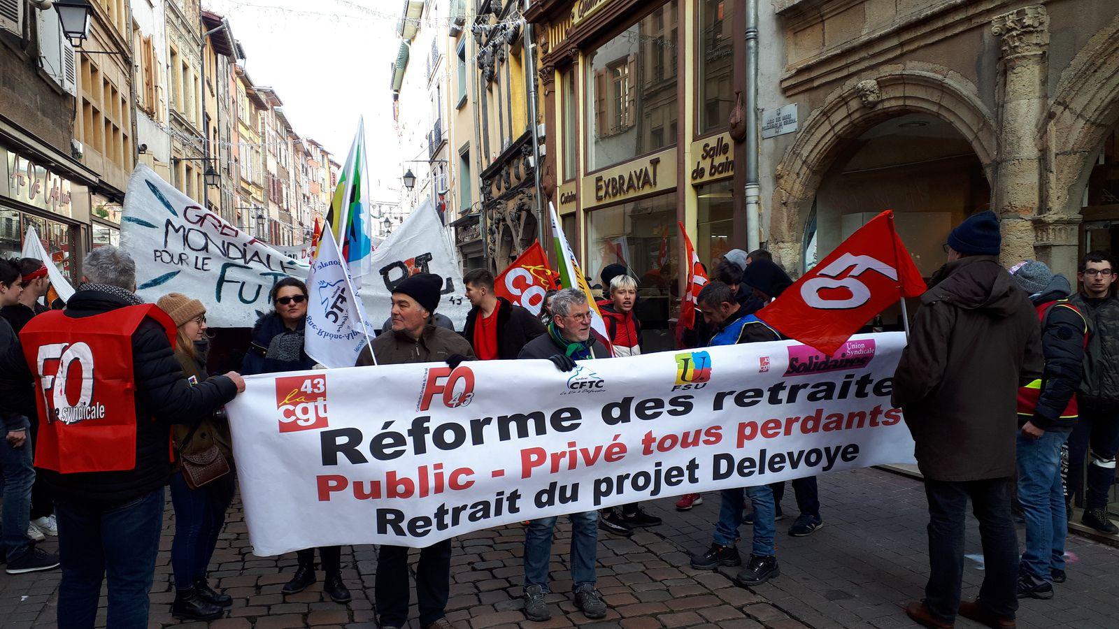 Une déclaration intersyndicale en Haute-Loire : POUR PROTEGER LA SANTE ET LA SECURITE DE TOUTES ET TOUS, TOUJOURS DANS L'UNITE POUR LES REVENDICATIONS !