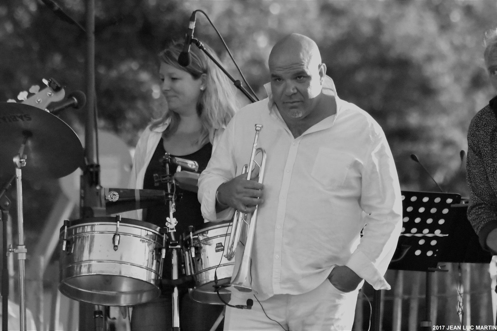 ROLANDO SALSA ORCHESTA AU CHATEAU D'OLERON LE 23/06/2017