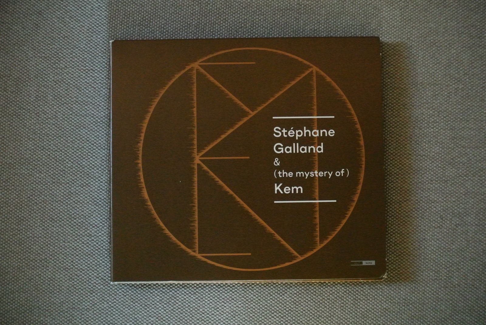STEPHANE GALLAND: THE MYSTERY OF KEM ( OUTHERE MUSIC )