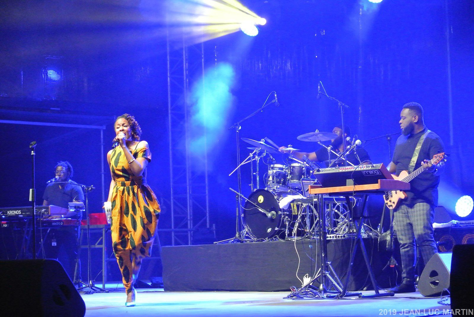 TANIKA CHARLES AND THE WONDERFULS A RIO LOCO A TOULOUSE LE 15/6/2019