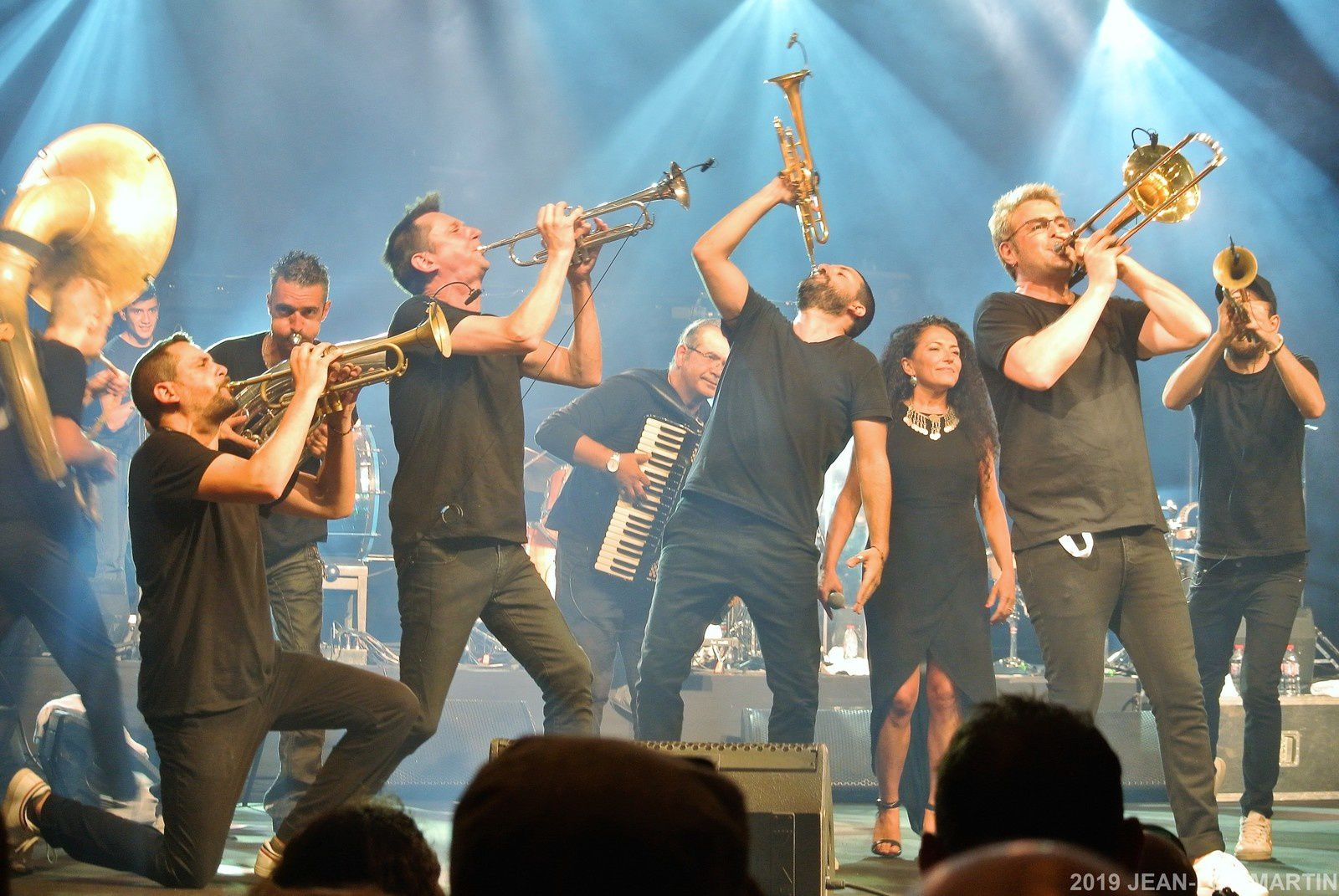 IBRAHIM MAALOUF/ HAIDOUTI ORKESTAR AU SURGERES BRASS FESTIVAL LE 17/7/2019