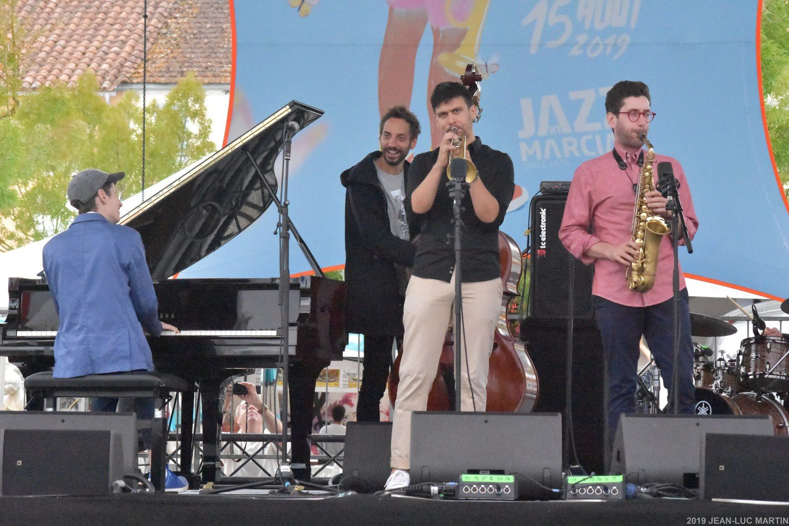 THE MEETING QUINTET A JAZZ IN MARCIAC LE 30/7/2019