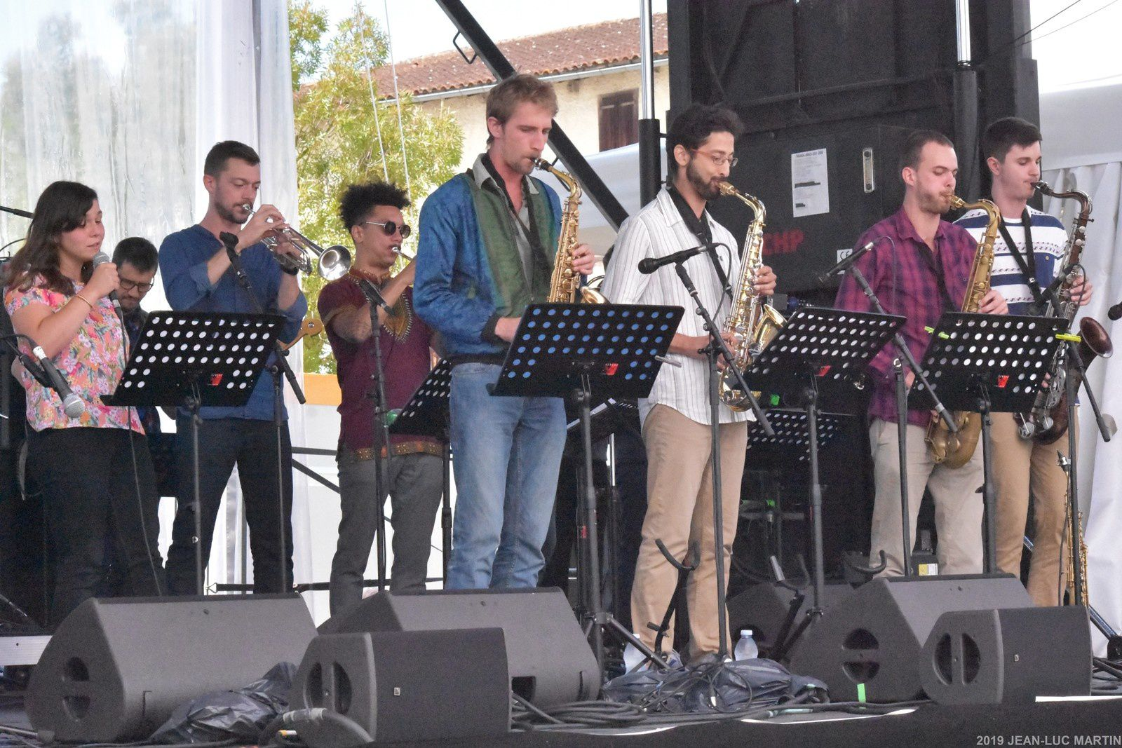 FRED PALLEM/LE GROo ( GRAND ORCHESTRE REGIONAL OCCITANIE) A JAZZ IN MARCIAC LE 1/8/2019