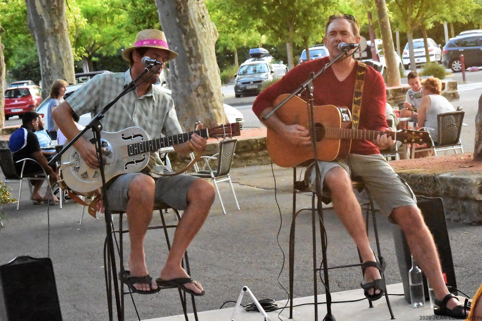PIC SAINT BLUES AU JAZZ CORNER CAFE A SOMMIERES LE 22/7/2020