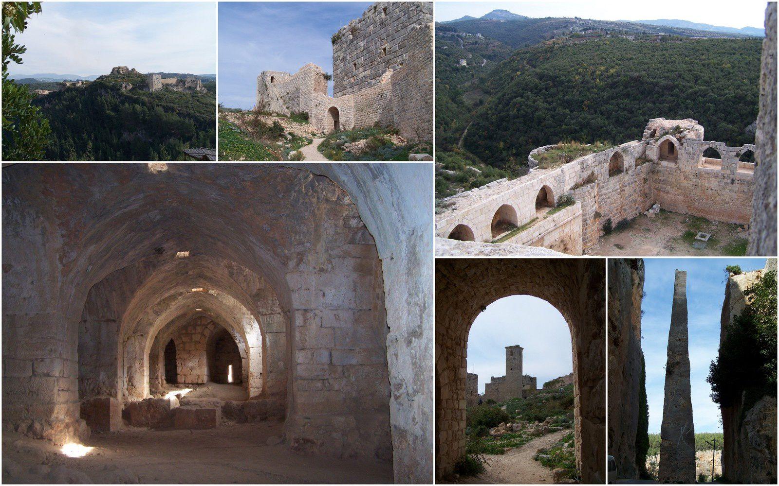 Le château de Saladin