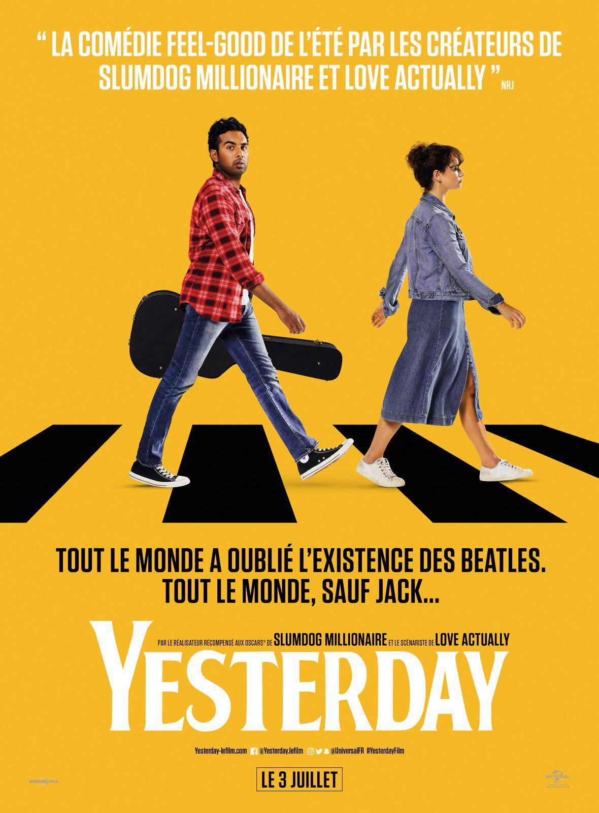 Film yesterday, dany boyle, beatles