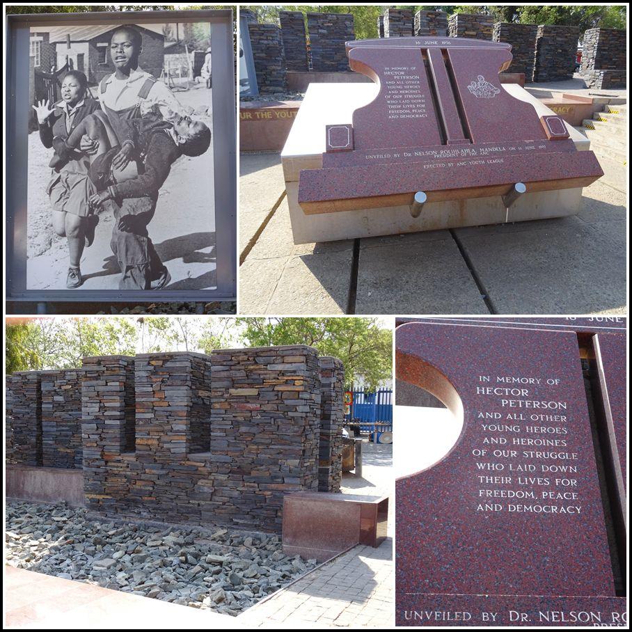 Lors des manifestations pacifistes de juin 1976,  L'un des premiers manifestants à être abattu est Hector Pieterson (sans doute tué par le colonnel Kleingeld lui-même), devenant plus tard l'icône du soulèvement. La photo, prise par Sam Nzima, sur laquelle il est porté par un camarade de classe, Mbuyisa Makhubo, fit plus tard le tour du monde et joua un rôle clé dans la dénonciation du régime de l'apartheid par l'opinion internationale. Sur les 23 morts répertoriés ce jour du 16 juin, 21 sont des Noirs. Deux membres blancs du conseil d'administration des townships ont été tués, victimes de la foule en colère. Ce mémorial en hommage à Hector Pieterson fut érigé sous la présidence de Mandela, ainsi qu'un musée, juste à côté. Les émeutes se sont propagées et ont fait 575 morts