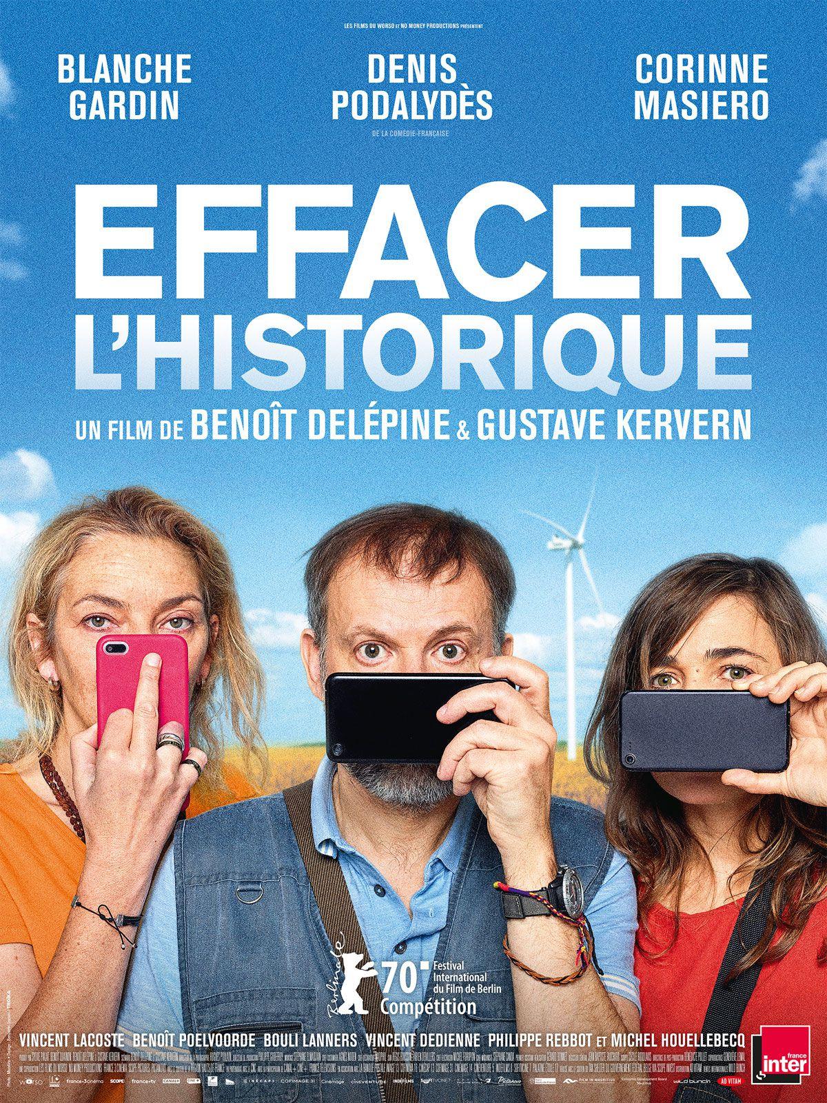 Cinéma, film, Effacer l'historique, Blanche Gardin, avis, blog, chronique