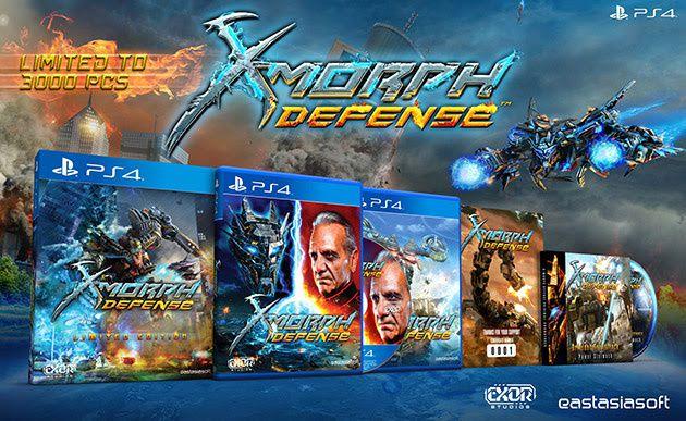 Une sortie physique pour X-Morph: Defense