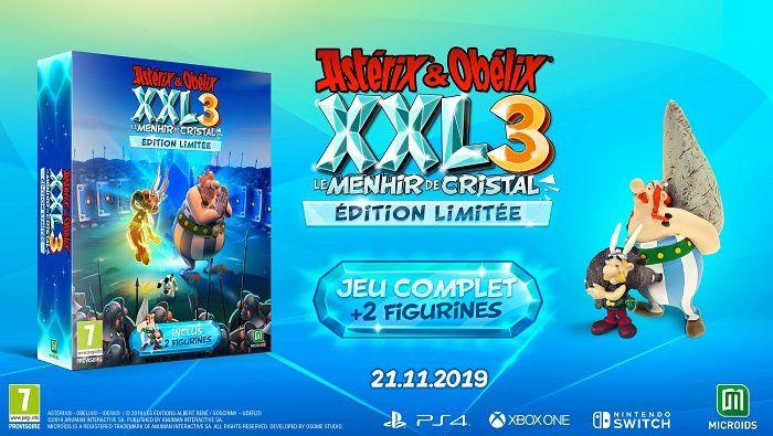 De nouvelles images pour Astérix & Obélix XXL3 : Le Menhir de Cristal