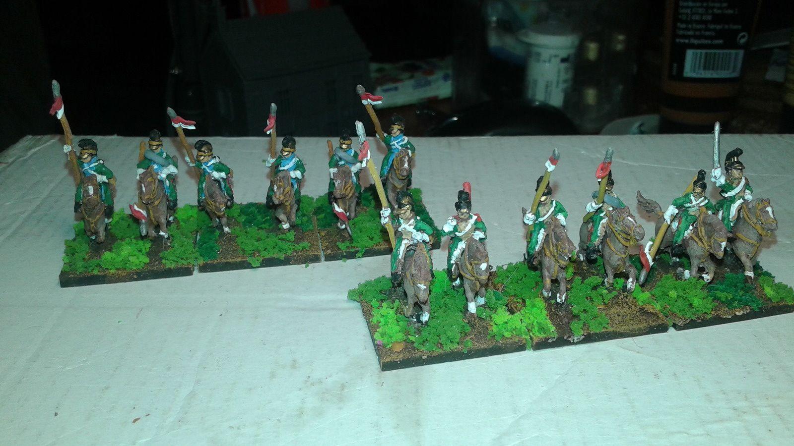 vend cavalerie francaise  15mm peint