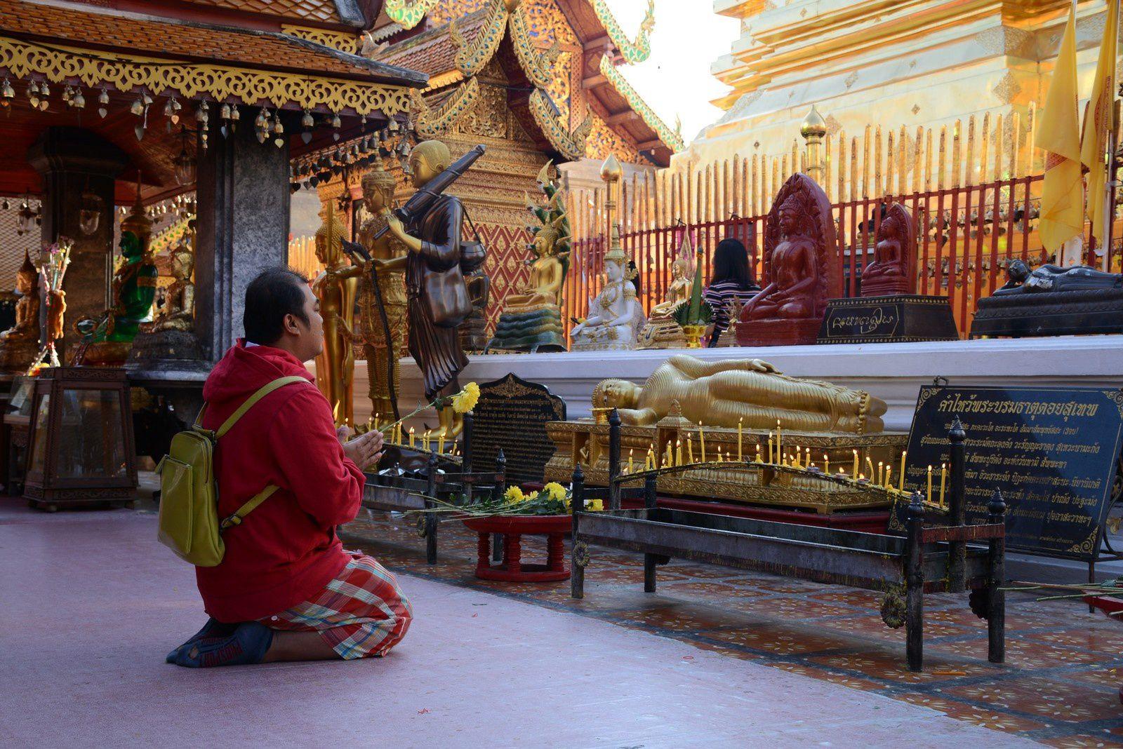 temple Phrathat Doi Suthep / Chiang Mai