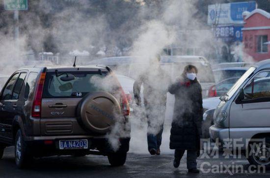 preuve que l'air automobile est sans danger…aucun. C'est pour carnaval.