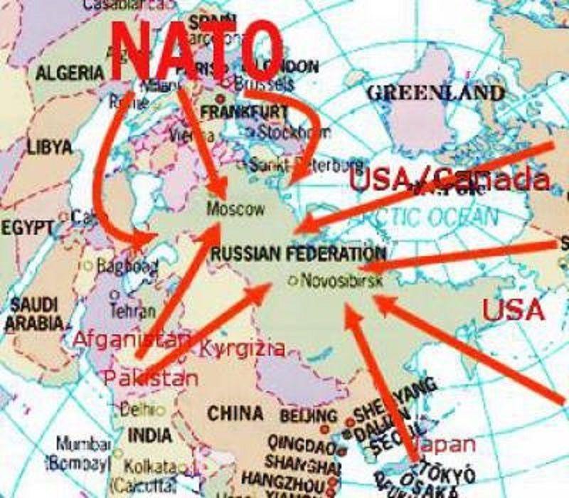 Donc les USA sont lourdement agressés sur leur propre territoire ? La déclaration de Varsovie de l'OTAN est une déclaration unilatérale de guerre qui ne peut montrer aucune justification !
