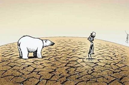 la rencontre des 2 plus grandes destructions bien causées par l'ignorance...capitaliste !