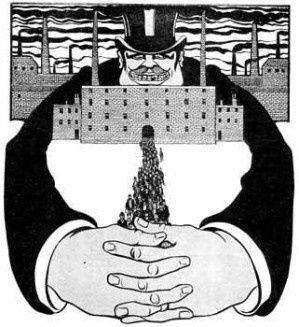 Ce dessin est l'aveu central que le capitalisme est structuré comme une grande délinquance