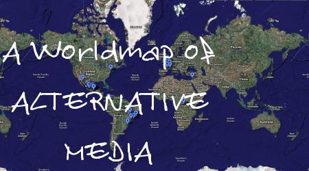 la carte mondiale des médias alternatifs