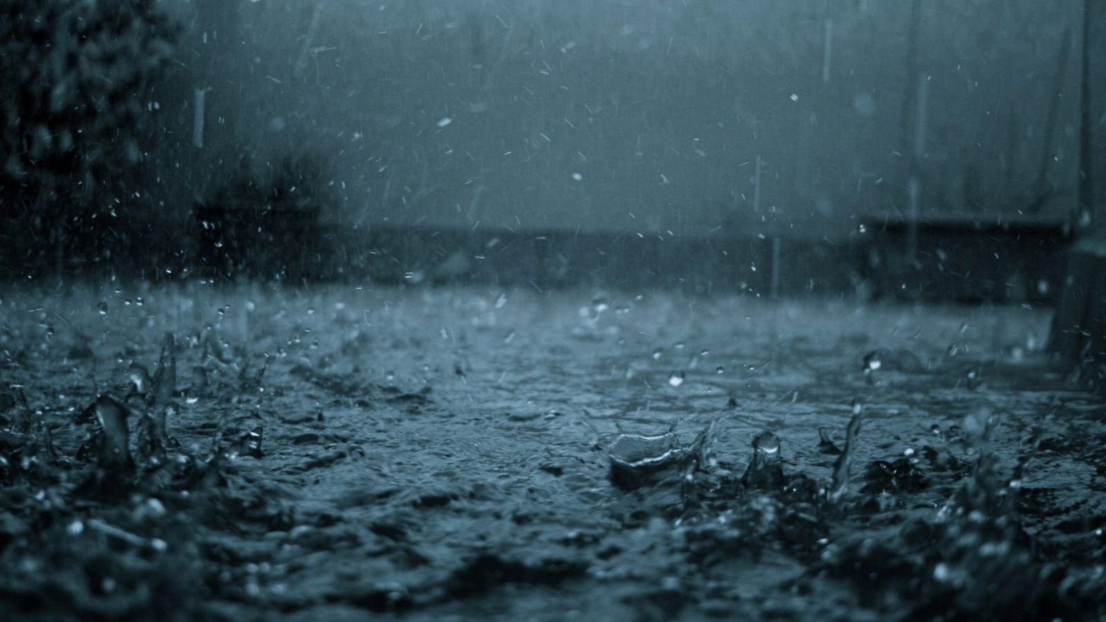 Elle pleut