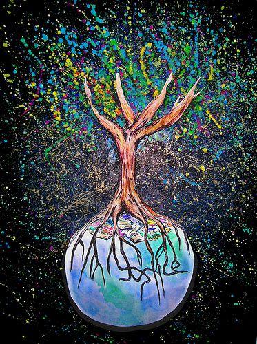 l'arbre de la Justice change le monde….
