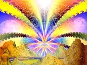 l'âme est à l'extérieur et c'est l'anima mundi – le monde entier veut, ardemment, nous rencontrer. Les religions n'ont rien à y voir…