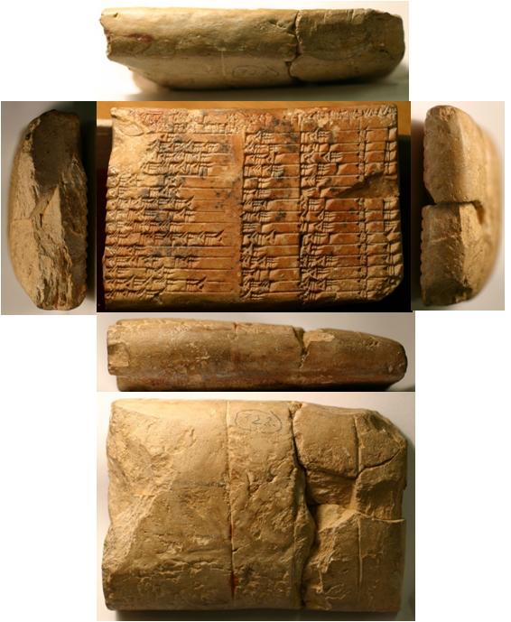 tablette Plimpton 322