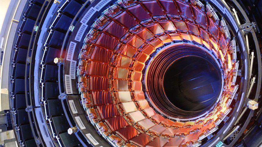 Photo : accélérateur de particules LHC
