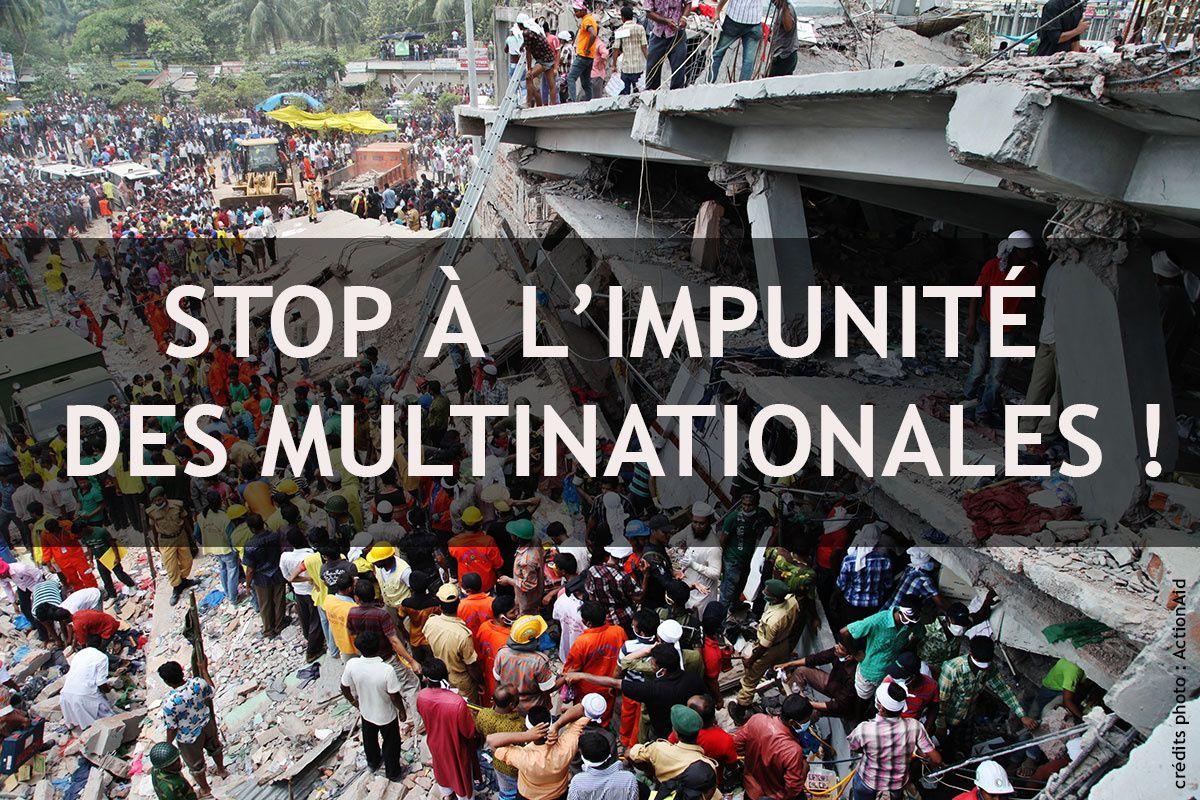 Devoir de vigilance envers les multinationales-devoir jamais encore rempli…