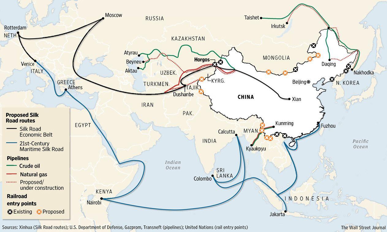 La Chine crée le plus gros fonds d'or physique du monde…Les U.s.a. sont donc définitivement largués…