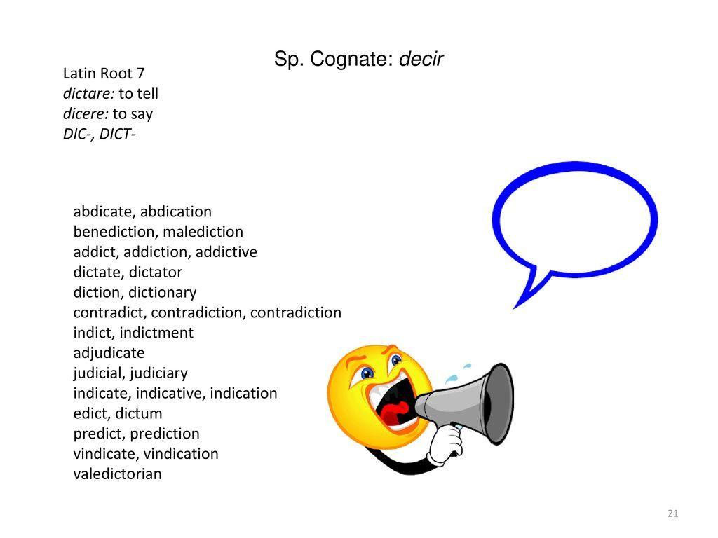Les dictions des contradictions
