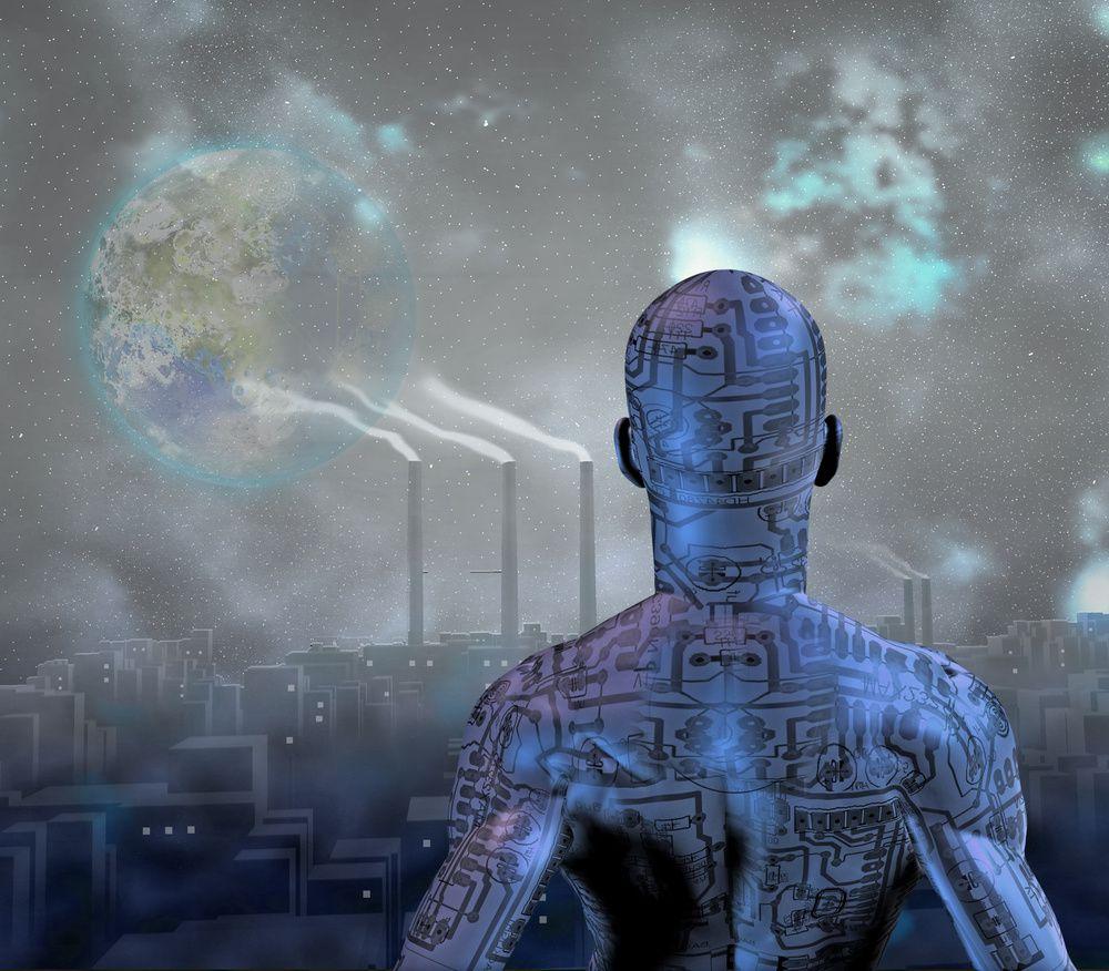 seuls des robots peuvent vivre dans cette société si ennemie des corps