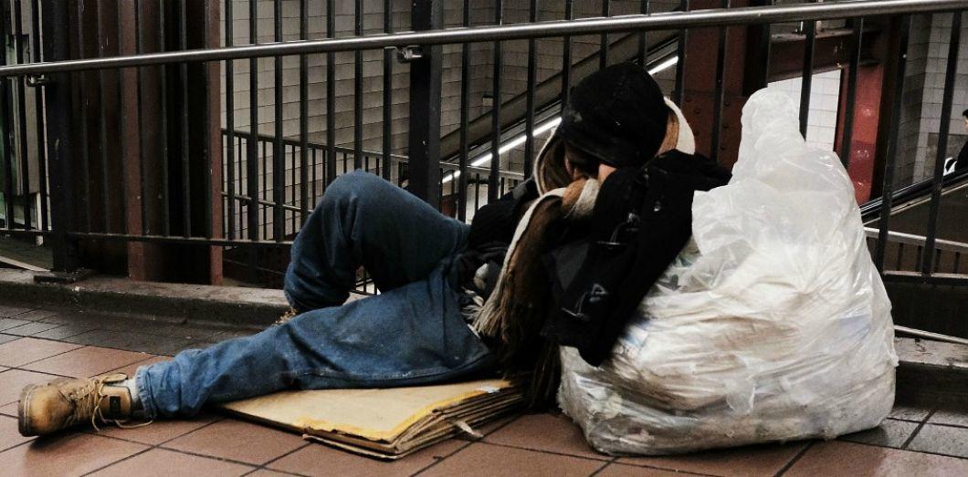 SPENCER PLATT/AFP…«Il y a des millions et des millions d'Américains dont la souffrance, à cause de la pauvreté et des problèmes de santé, est aussi terrible voire pire que celle des pauvres en Afrique ou en Asie.»