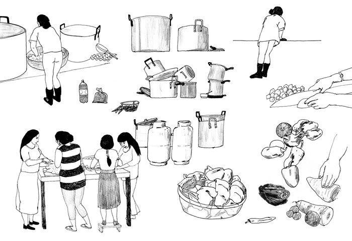 A Lima, depuis plus de trente ans, les femmes s'organisent contre la pauvreté. Les restaurants populaires leur permettent d'économiser, mais aussi de se rassembler.