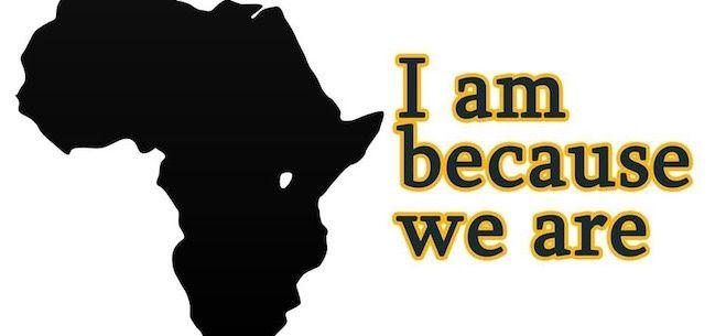 …je suis parce que nous sommes…