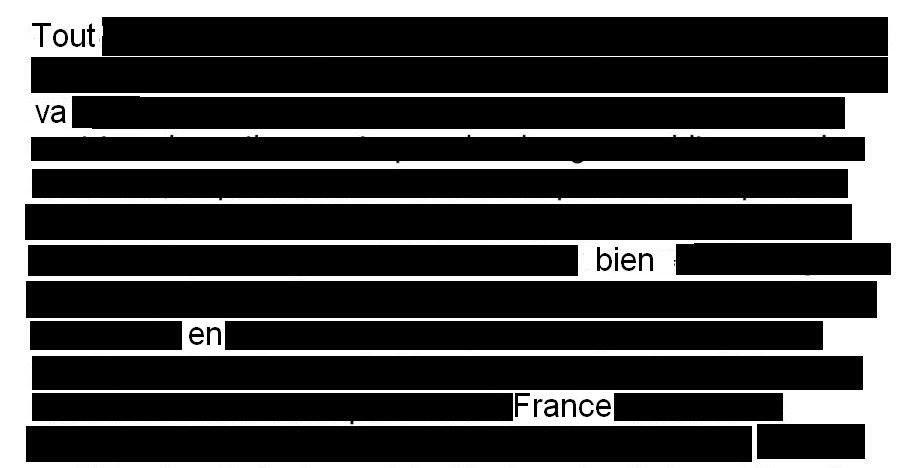 Niveau de censure incroyable en France - la grande soviétisée par le privée…