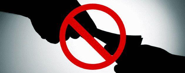 interdite la corruption...