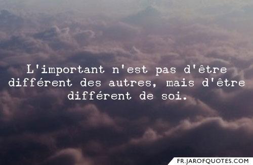 Faut-il différer nos différences ?