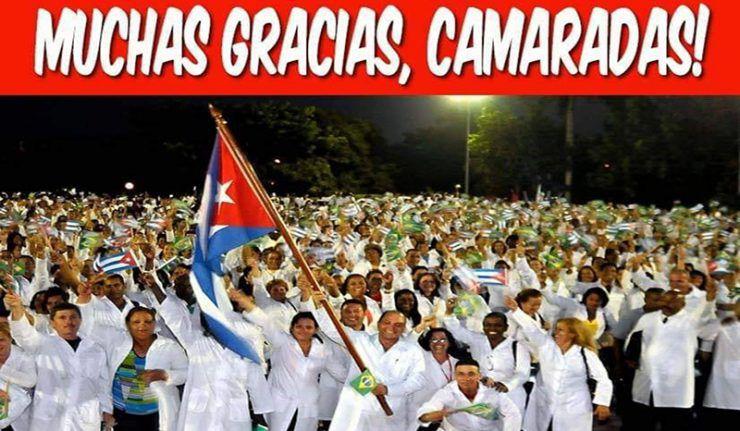 Cuba a honoré plus de 600 000 missions internationalistes dans 164 nations, toujours en première ligne quand il s'agissait d'aider un pays frère en nécessité et sans ne jamais s'immerger dans les affaires intérieures d'un de de ces pays…Le pays le plus solidaire du monde est « puni » par un blocus depuis 59 ans !...Et Personne en Europe qui ne réagit ? Juste pour mendier une solidarité qu'ils se démontrent incapables d'offrir, même quelques grammes. Qui sont les burlesques dans l'Histoire ?