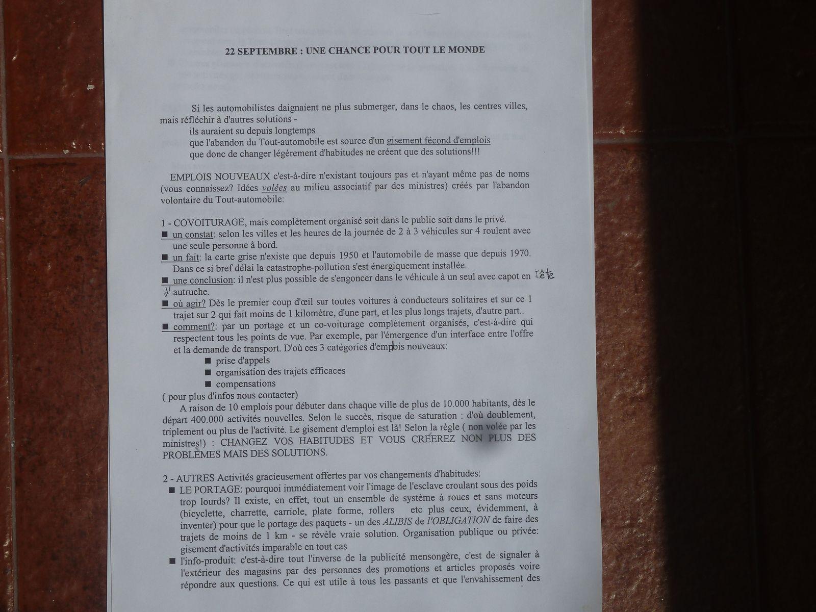 L'original du tract distribué le 22 novembre 2002 et qui sert de base à la fin du texte