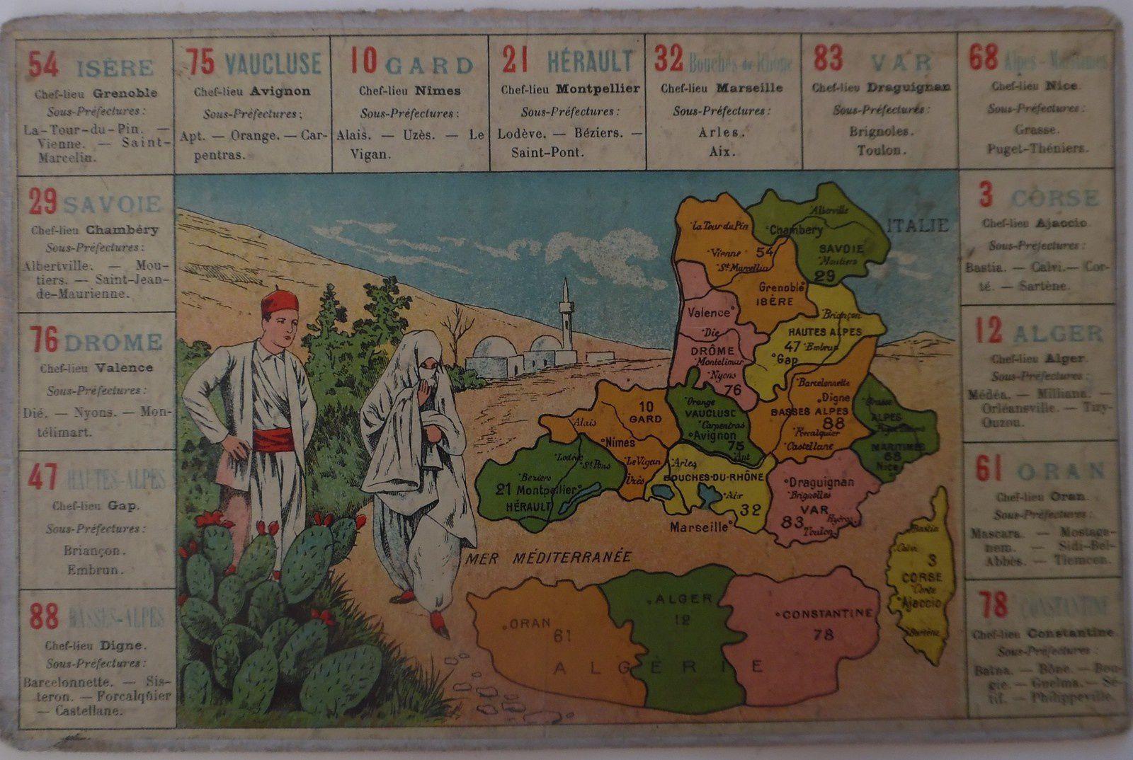 LOTOS géographiques DEPARTEMENTS.
