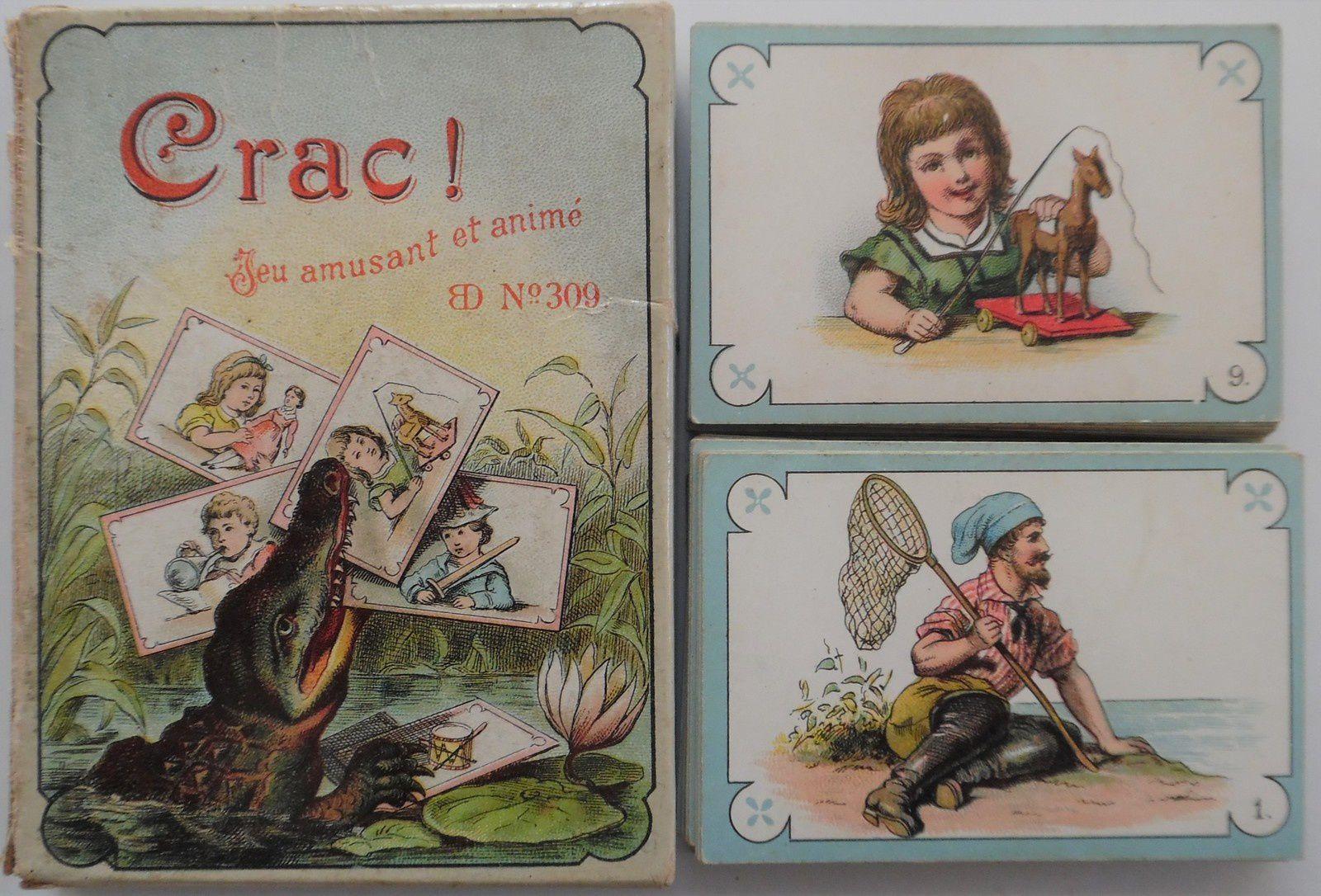 """jeu de """"CRAC"""", BD 309"""