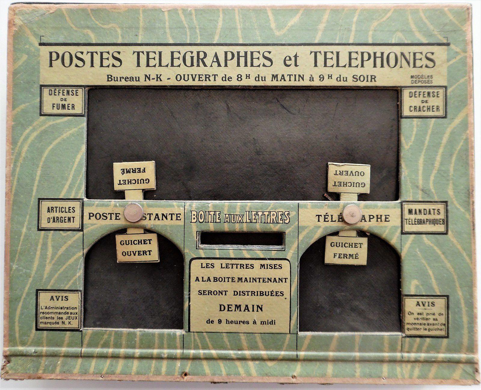 Postes,télégraphes et téléphones, bureau de poste NK Atlas