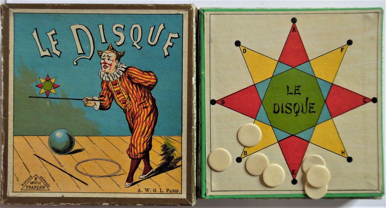 le disque, jeu de combinaisons