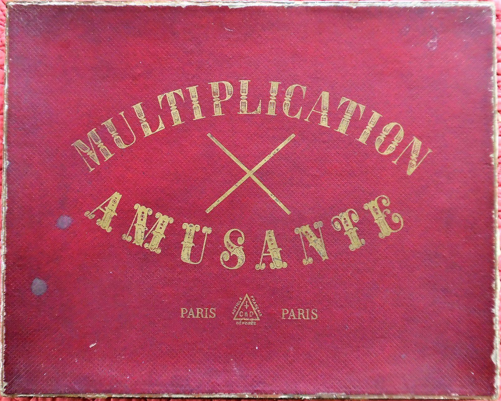 jeu de la multiplication amusante