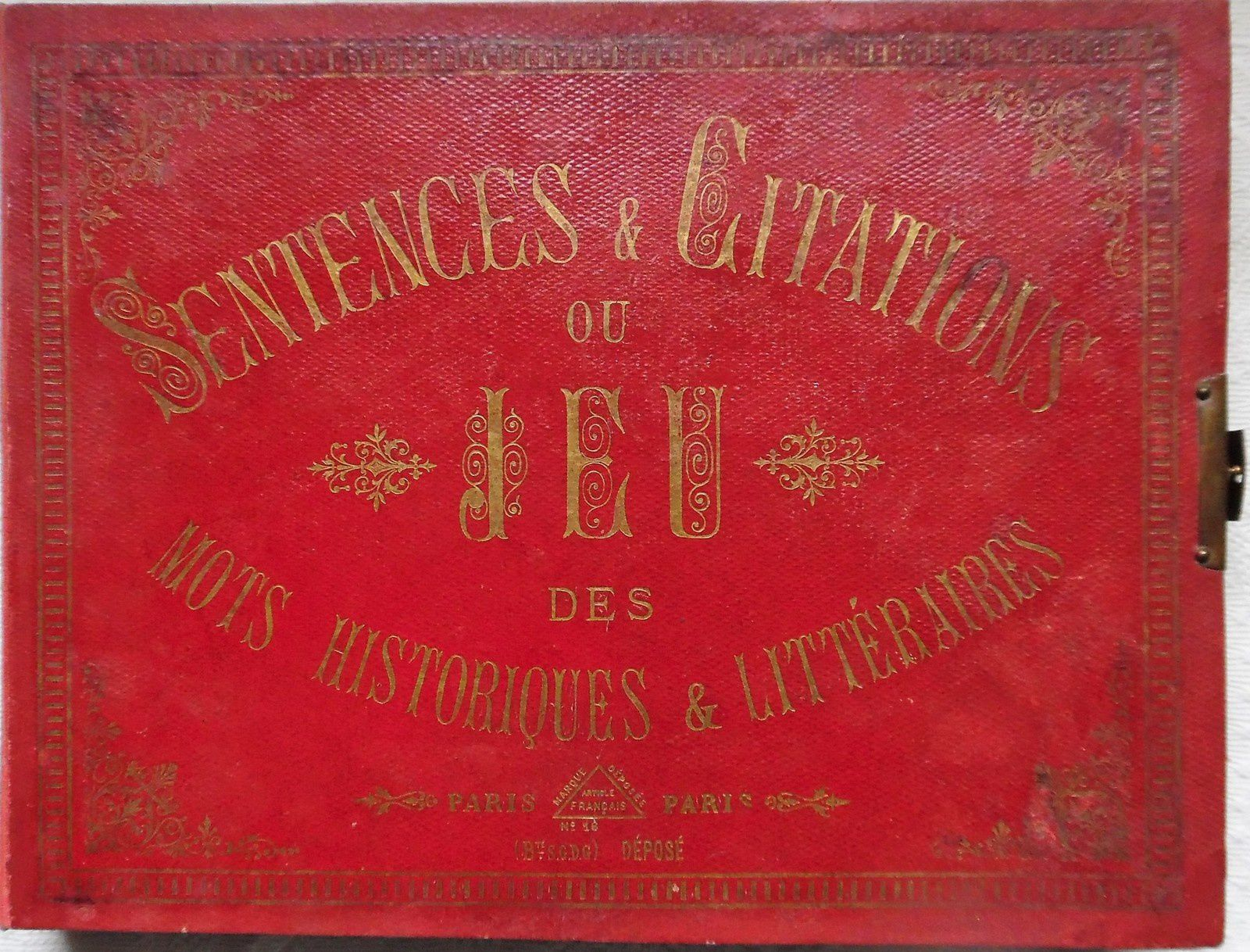 sentences et citations ,version de luxe