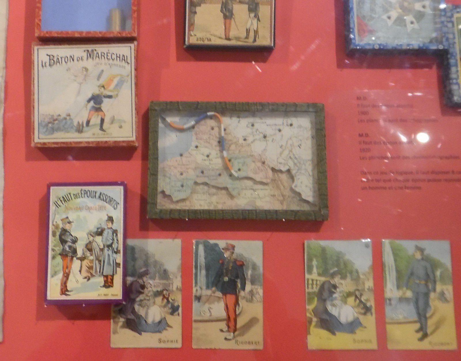 les jeux de la guerre au musée , l'expo est ouverte !