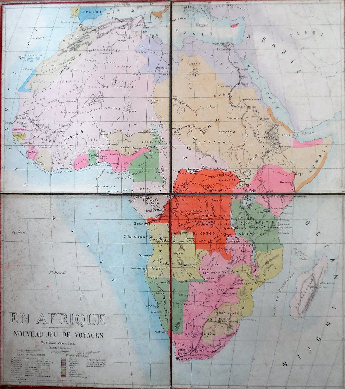 A la conquête de l'AFRIQUE