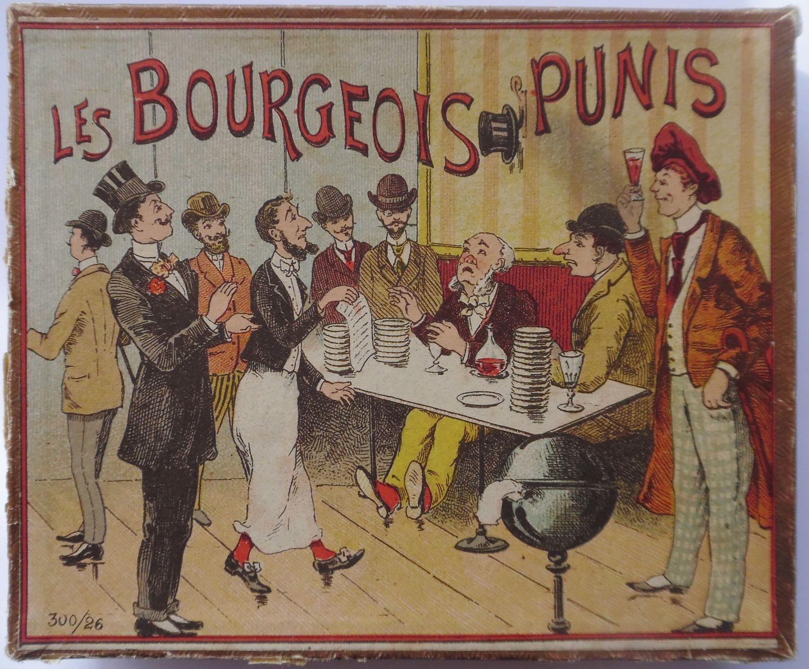 les bourgeois punis  300-26