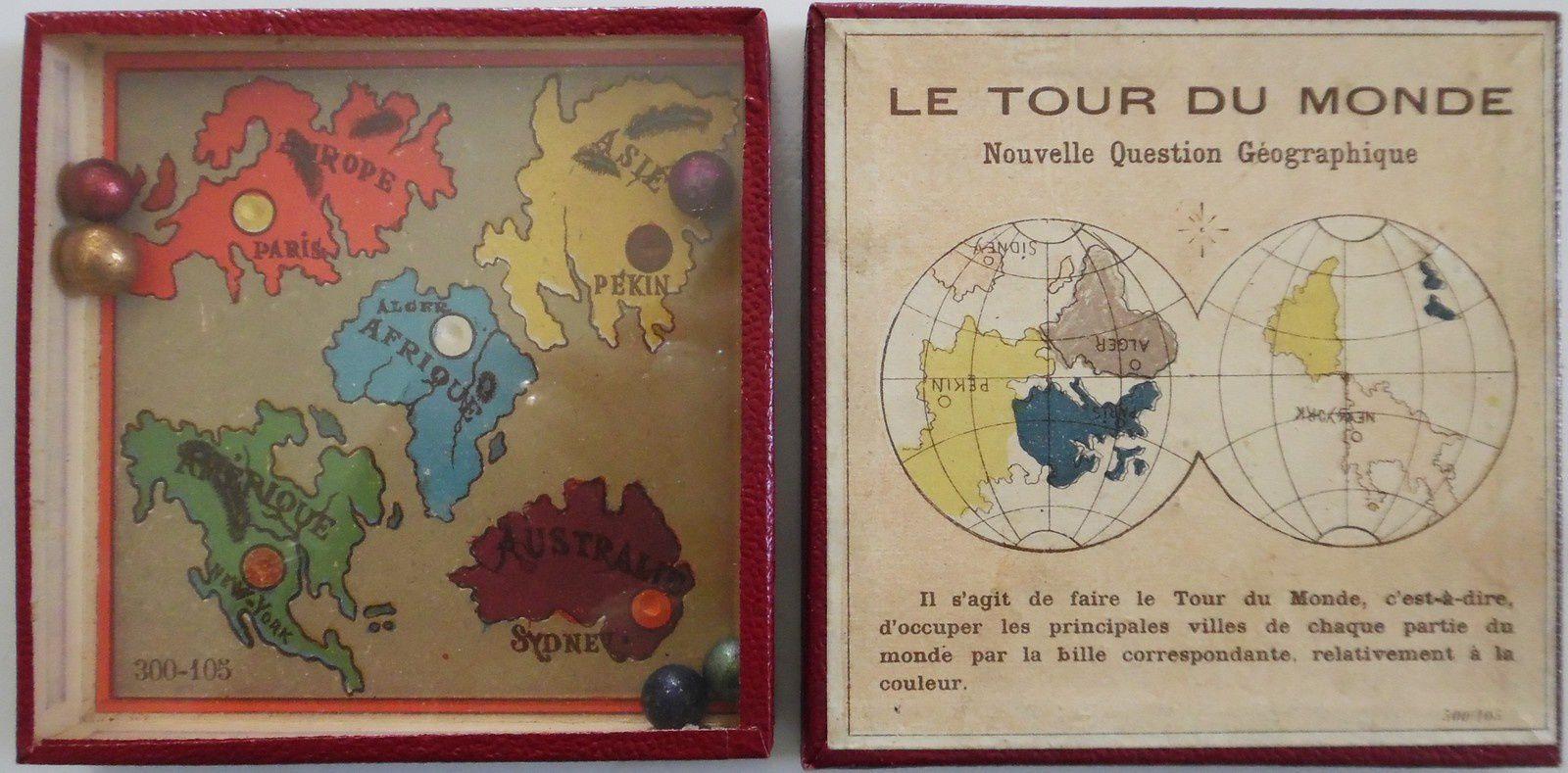 le tour du monde 300-105