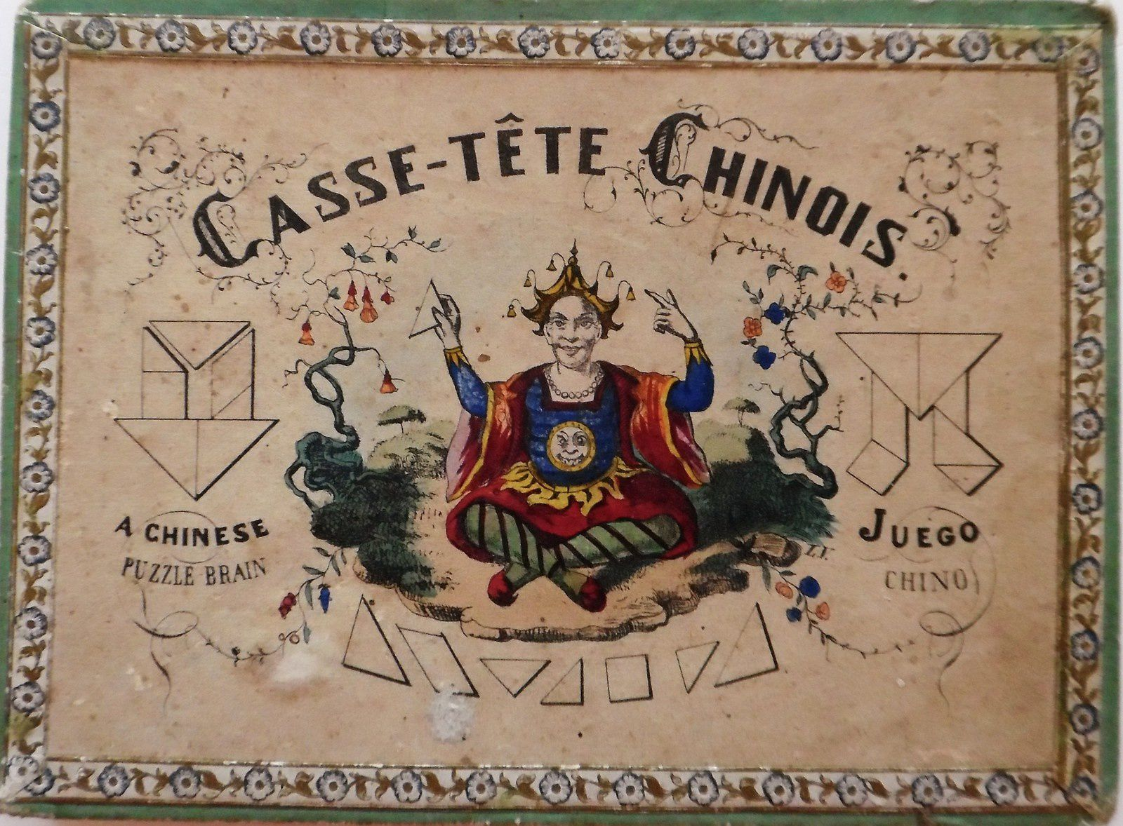 casse-tête chinois, vers 1880